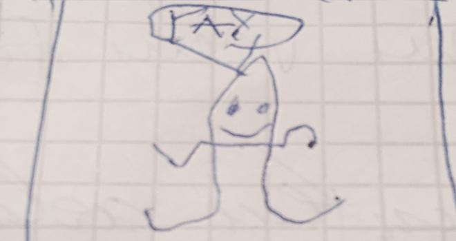 De ce copiii desenează monștri, iar adulții nu?